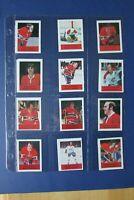 MONTREAL CANADIENS 1974-75 LOBLAWS (18 dif) Guy Lafleur Ken Dryden Henri Richard