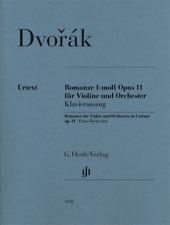 Henle Urtext Dvorak Romance in F Minor Op. 11 Violin and Piano