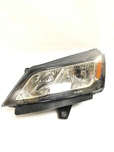 2013 - 2017 Chevrolet GM OEM Traverse Left Headlight Assembly 23202709 Damaged