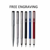 Personalised Engraved PARKER Vector Ballpoint Pen/Rollerball Pen/Fountain Pen