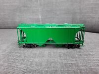 Vintage Sunset Models HO Scale Green Painted Brass AC & F 70 Ton Covered Hopper