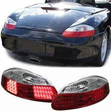 CLEAR LED TAIL LIGHTS LAMPS FOR PORSCHE BOXSTER 986 1996-2004 MODEL NICE GIFT