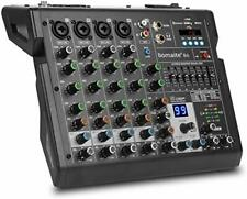 More details for 6-channel mixer 99 effects 7 band eq bluetooth studio audio mixer for pc