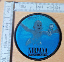RARE WOVEN NIRVANA NEVERMIND PATCH THE MELVINS ALIVE IN CHAINS SOUNDGARDEN