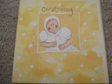 "ALEX CLARK OCCASIONS - ""BABY"" CHRISTENING CARD (SEALED)"