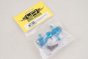 Yeah Racing Fuselli anteriori in alluminio Blu x Tamiya TT-02 (2pz) modellismo