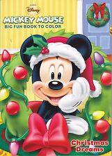 Disney Mickey Mouse Christmas Coloring Book ~ Christmas Dreams