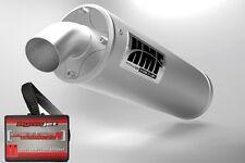 HMF Titan Quiet Slip On Exhaust + Dynojet PCV PC5 PC V Polaris Sportsman 550