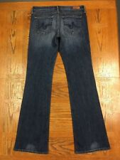 AG ADRIANO GOLDSCHMIED ANGEL BOOT CUT JEANS ACTUAL 33 x 35 Tag 30R BEST F14u