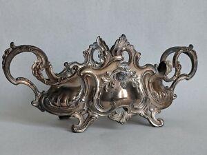 Antique Art Nouveau French Metal Depose Jardiniere