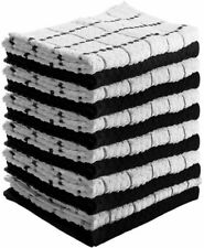 Utopia Towels 15x25 in Cotton Kitchen Towels - White, Pack of 12