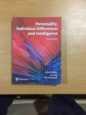 Personality Individual Differences and Intelligence Fourth Edition Pearson