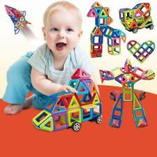 76PCS Mini Magnetic Building Blocks Construction Educational Kids Magic Toys UK