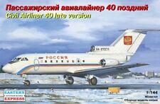 1/144 Eastern Express Yak-40 Airliner Model Kit 14493