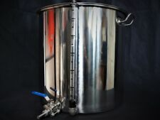 70ltr stainless steel stockpot with Tap and sight glass pan, tank