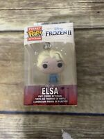 FUNKO POP! Frozen 2 Elsa Vinyl Keychain Pocket Mini Figure NEW Free Shipping