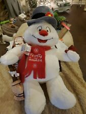 New ListingBuild A Bear Frosty The Snowman with Light Up Cheeks Plush