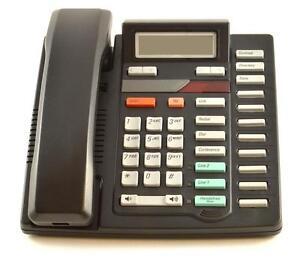 Fully Refurbished Nortel Meridian M8417 Two-Line Telephone (Black)
