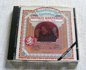 CAPTAIN BEEFHEART & THE MAGIC BAND UNCONDITIONALLY GUARANTEED CD NR MINT COND.