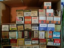 Vacuum Tube Radio TV Lots of Different Tubes 6Jxx All Tubes