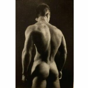 Small Oil Study of the Male Nude by Wheldon - NO RESERVE