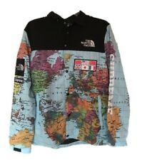 SUPREME x TNF The North Face SS14  Expedition Map Jacket Coat Hoodie, Men's M