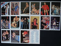 1988 Wonderama NWA Wrestling Supercards Cards U Pick
