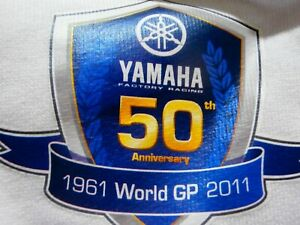 Yamaha FACTORY RACING MotoGp 1961 - 2011 50 YEAR ANNIVERSARY JACKET PIT CREW XL