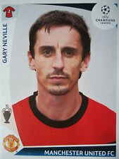 Panini 75 Gary Neville Manchester United UEFA CL 2009/10
