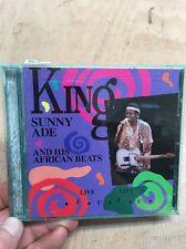 King Sunny Ade & His African Beats-Live Live Juju CD RYKO RCD 10047 Nigeria 1988