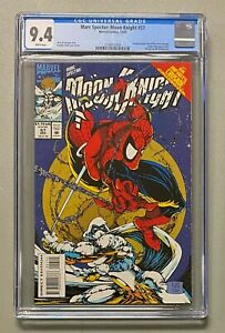MARC SPECTOR Moon Knight #57 Marvel 1993 CGC 9.4 Spider-Man #301 Cover Homage