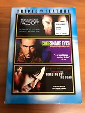 Nicholas Cage Triple Feature w/ Slipcover (Dvd, 2007) Face/Off Snake Eyes