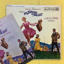 The Sound of Music - Bande Originale - Livret - JULIE ANDREWS - rb-6616 VG+