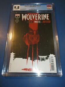 Wolverine Black White and Blood #3 CGC 9.8 NM/M Gorgeous Gem Wow