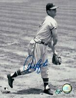 Andy Pafko Signed 8X10 Vintage Photo Autograph Black & White Braves Auto w/COA