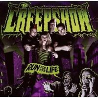 "THE CREEPSHOW ""RUN FOR YOUR LIFE"" CD NEW+ 2010 RE-ISSUE"