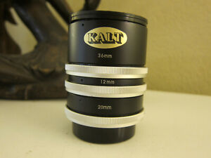 CALT 12mm,20mm,36mm extention tube for Canon