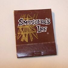Vintage 'Smuggler's Inn Food & Grog' Matchbook, Fantastic NOS shape, FREE SHIP!