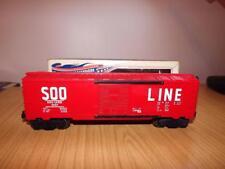 Xa320: Lionel O Gauge SOO Line 9207 Box Car - Exc/Boxed