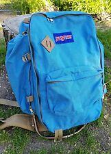 Jansport Vintage External Frame Backpack Blue Large Size