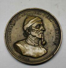 médaille du commandant  jacques Yves Cousteau ( signée r. duboc )