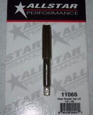 """Allstar Tungsten Steel Tap Titanium Coated 1/2"""" -20 LH Hand Fine Thread ALL11065"""