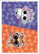 sticker nº 165 Panini-L.o.l surprise! 165a+165b