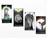Animal Spirit Tarot Deck Oracle Cards 53 Card Playing Cards
