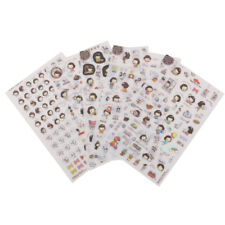 5pcs Transparent Scrapbooking Stickers Korean Helloday Sticker Kids Toys