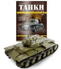 KV-1  WWII SOVIET HEAVY BATTLE TANK Diecast Model scale 1/43 DEAGOSTINI TANKS #3