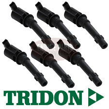TRIDON IGNITION COILS X 6 FORD FALCON / TERRITORY BA BF 4.0L XR6 BARRA TIC131