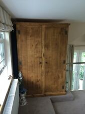 Rustic Pine Double Wardrobe (can be made any size)
