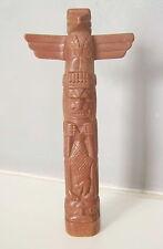 PLAYMOBIL (E312) INDIENS - Totem Marron Vintage 3483