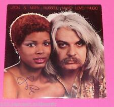 LEON RUSSEL SIGNED MAKE LOVE TO THE MUSIC  VINYL LP * EXACT PROOF*